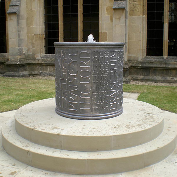Chritchurch College Oxford Fountain