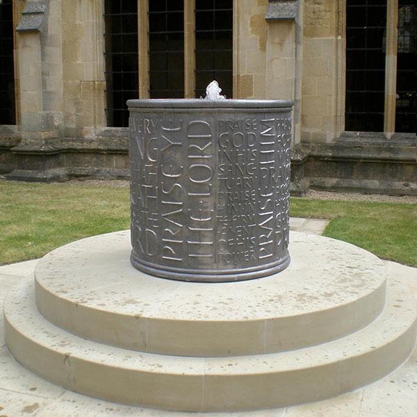 Chritchurch College Oxford Fountain