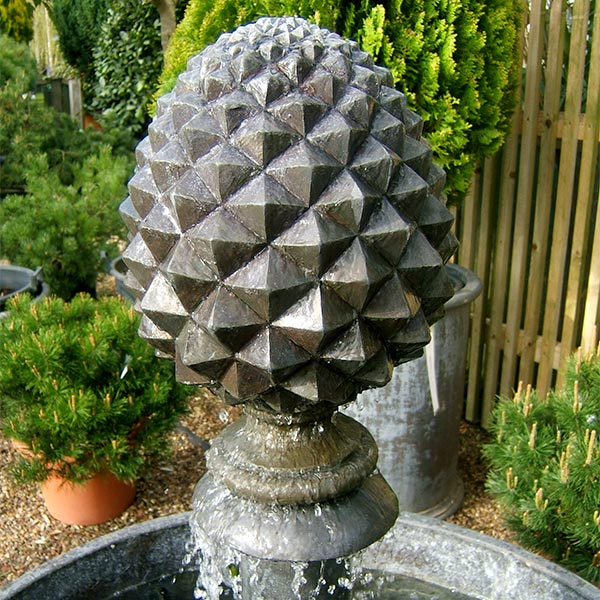 Pine cone feature